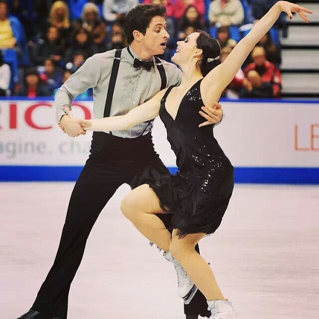 In the next 5 years i would like to see Tessa and Scott Ice Dance or meet them. They are such an inspiration to me and they are amazing ice dancers. I love watching them together ( extra )
