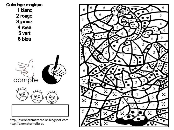 Les 42 meilleures images du tableau chaperon rouge sur pinterest petit chaperon rouge - Livre coloriage magique maternelle ...
