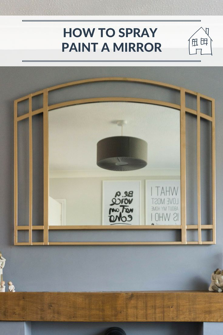 Looking at spray painting some items for your home, it is quick and easy and transforms the item. I have been spray painting a mirror to tie it in with my home decor. Spray painting is easy, quick and cheap. Click through to read how I spray paint a mirror