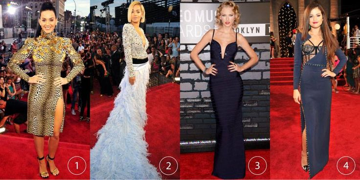Here are a few of our favorite looks from last night's VMA's