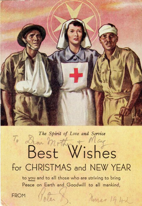 Christmas 1942 Greatest Generation WWII Christmas Card