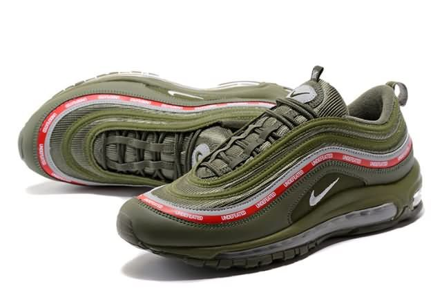 b58fb70d74787a Cheap Nike Air Max 97 Undefeated X  green Unisex shoes Only Price  67 To  Worldwide and Free Shipping