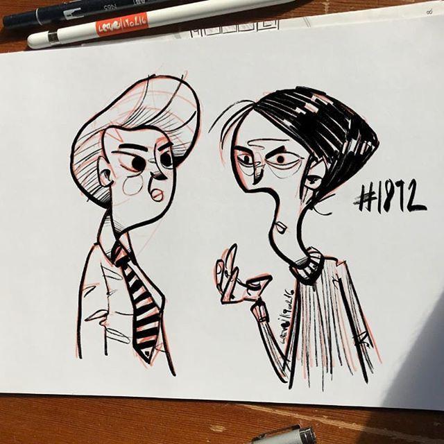 Sunday Morning Sketch Procreate N1892 Maxpacks Characterdesign