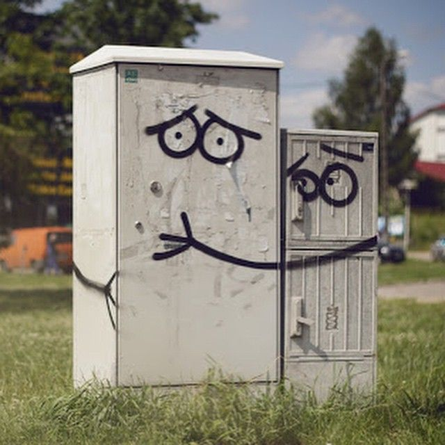 By Adam Łokuciejewski and Szymon Czarnowski in Olsztyn, Poland #streetartglobe #streetart www.UpFade.com