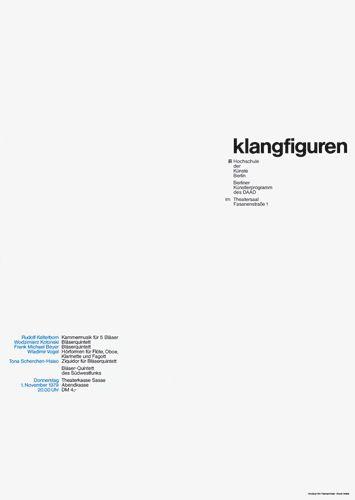 Klangfiguren / / Ott+Stein 1980