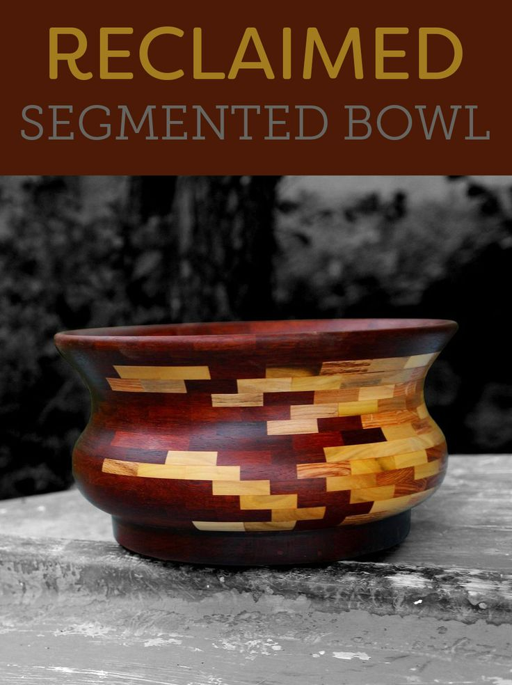 The pattern in this bowl is fantastic. Love that it's reclaimed wood!