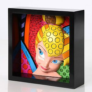 Peter Pan - Tinkerbell Pop Art Block - Pixie Perfect - Britto - Romero Britto - World-Wide-Art.com - $65.00