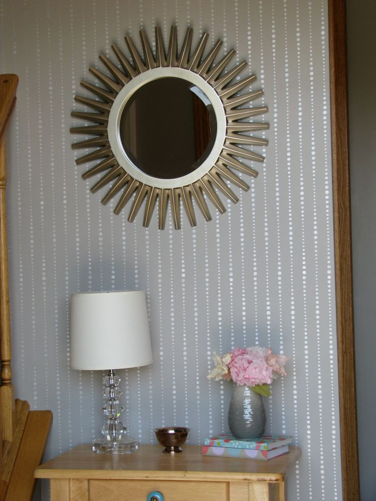 drip drop dot reusable wall stencil diy decor wall stencil decorative wall - Bedroom Stencil Ideas