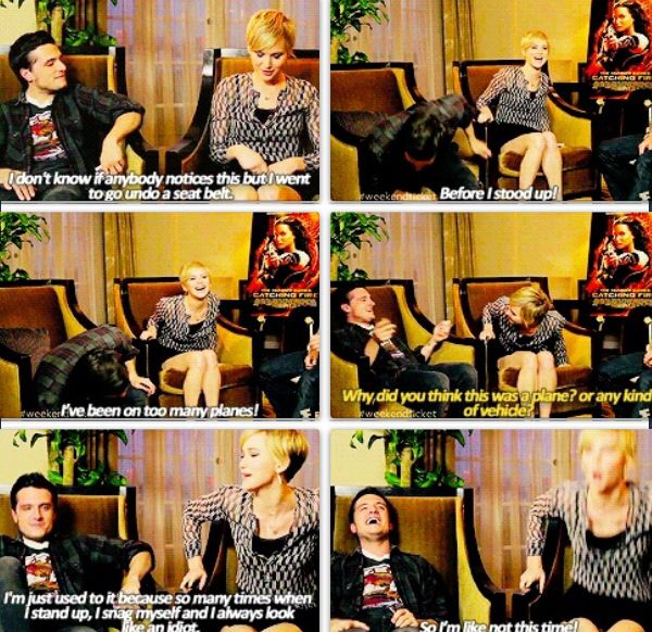 Jennifer is so hilarious. She doesnt care if things are embarrassing or what she says it all. just love her!