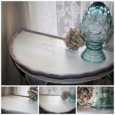 HALF MOON TABLE Http://agataa Gardenofdreams Agataa Agataa.blogspot