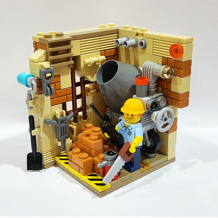 Construction Worker Lego ConstructionConstruction WorkerLego