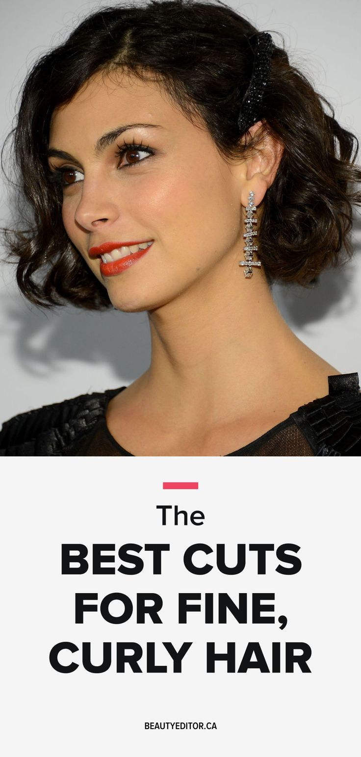 The Best Cuts for Fine, Curly Hair and a High Forehead | Beautyeditor