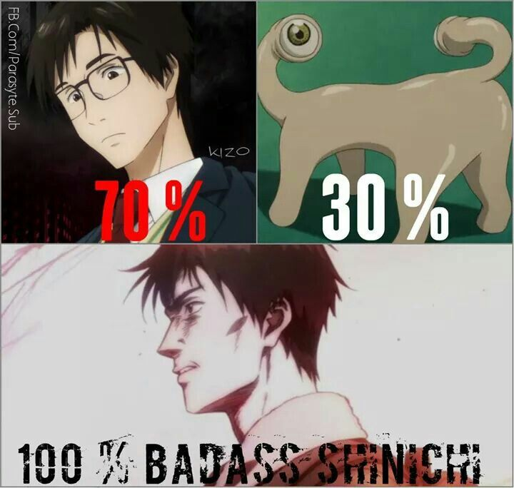 Kiseijuu: Sei no Kakuritsu (Parasyte -the maximum-) i'm hooked! Cant wait for the next episode/ << might be a bit weird but its an amazing anime!