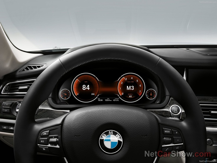 BMW 7series - Instrument cluster - 2013