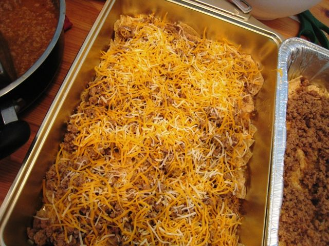 Lawnmower Taco - my 9yo's favorite freezer meal EVER. There is rarely any leftover. It's filling and comforting. You can adjust the seasoning for more or less heat. No processed ingredients in a casserole? Yes, it's possible.