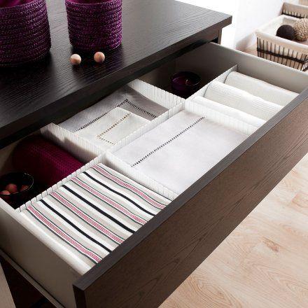Compactor Set di 6 separatori per cassetto modulabili Lovepromo