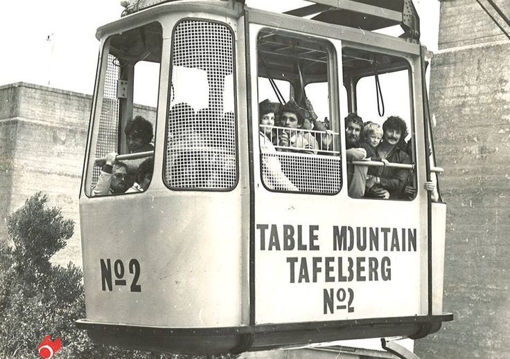 Old Table Mountain Cable car, Cape Town Foto: Kan Jy Nog Onthou Facebook blad