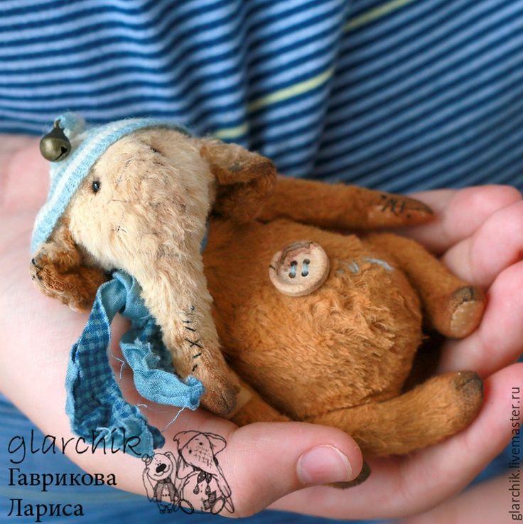 Купить Микрослоник Чих - разноцветный, бежевый, горчичный, голубой, слон, слоненок, слоник, коллекционная игрушка