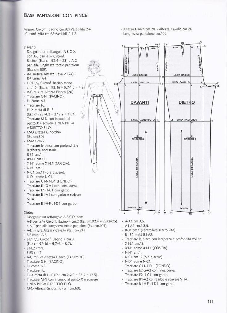 base pantaloni