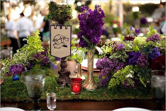 florale médiévale http://c.imdoc.fr/1/mariage/inspiration-medieval ...