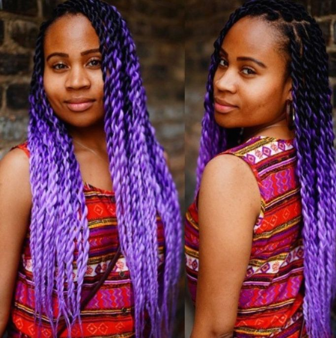 36 Best OMBRE BOX BRAIDSBRAIDING HAIR Images On Pinterest