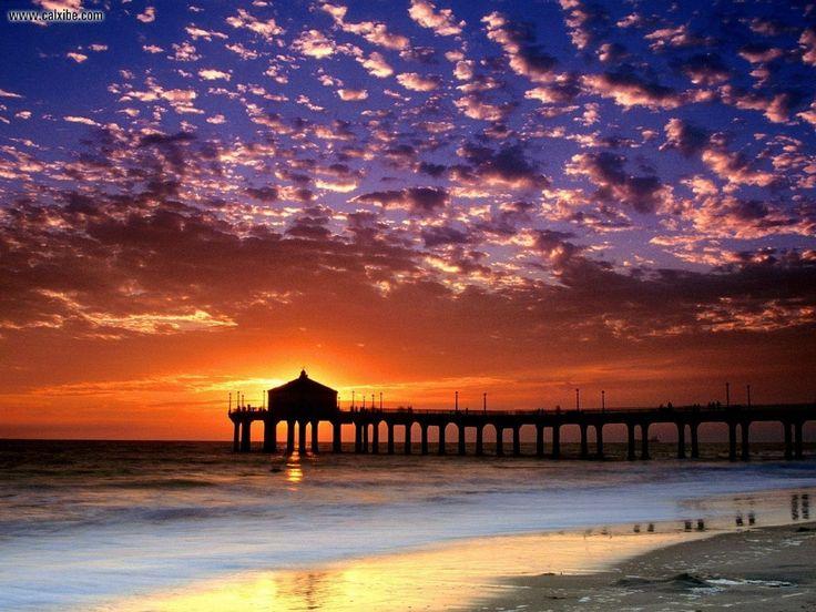 Manhattan Beach, California  My HOME town! Best place in the world.
