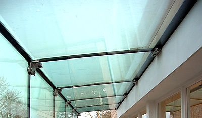 TRP Hereford - glass extension, glass box.