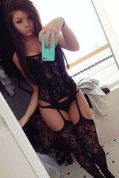 Mara's Album: Alicia hot black lingerie