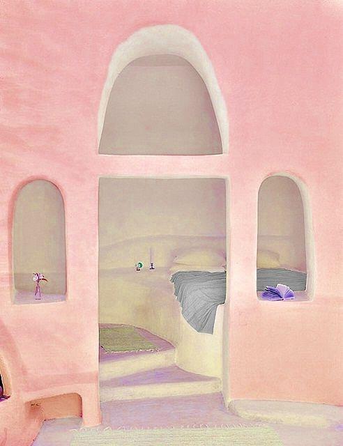 : Pastel, Dreams, Pink Walls, Bedrooms Design, Colors, Design Bedrooms, Pink Houses, Pink Bedrooms, Bedrooms Decor