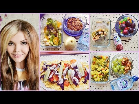 Полезные обеды в школу!|Healthy Back to School Lunches - YouTube