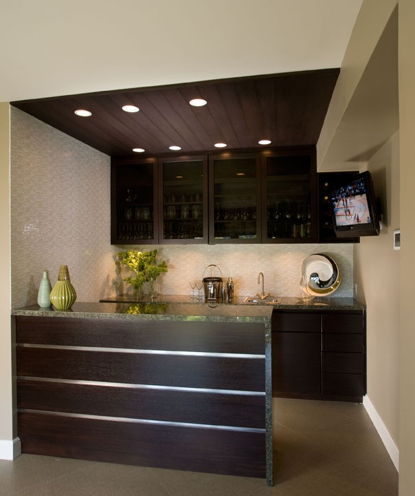 17 best images about home bar on pinterest - Minimalist kitchen design for small space ...