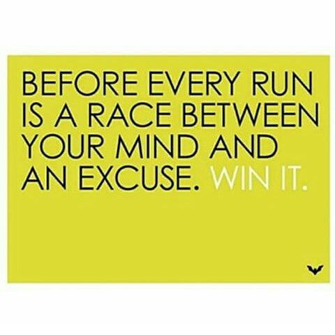 So true, sometimes even during a run!