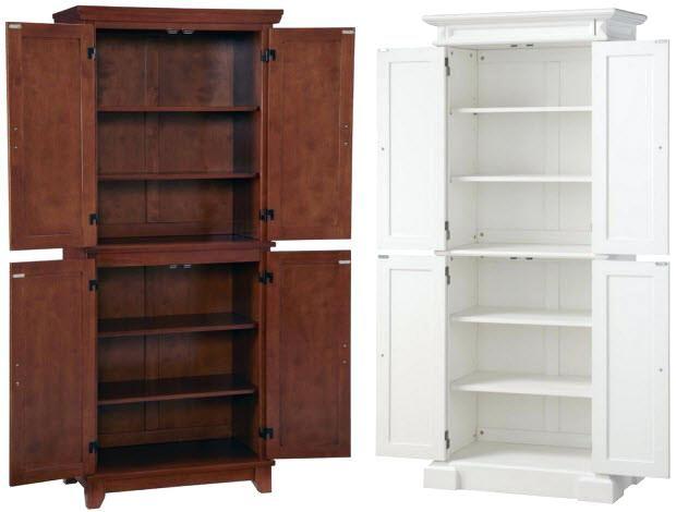 Kitchen Pantry Cabinet Freestanding Freestanding Pantry Target