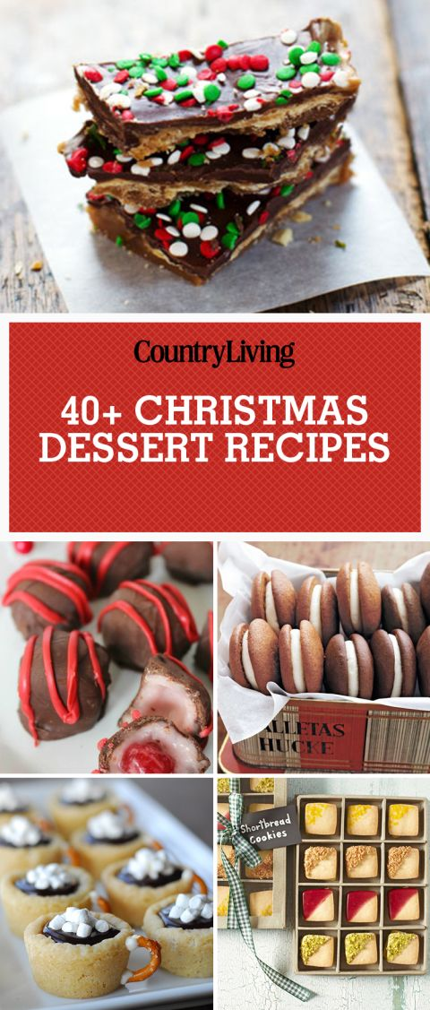 Forget presents! All we want for Christmas are these delicious sweet Christmas dessert recipes. Satisfy your sweet tooth after a big delicious Christmas dinner with these homemade whoopie pies or chocolate peanut butter satine toffee treats. These treats will have Santa Clause making two trips to your house overnight!