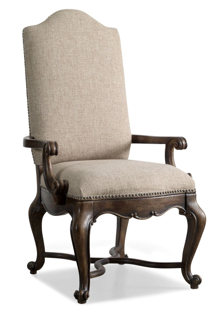 Comfortable arm chairs - Rhapsody Upholstered Dining Arm Chair
