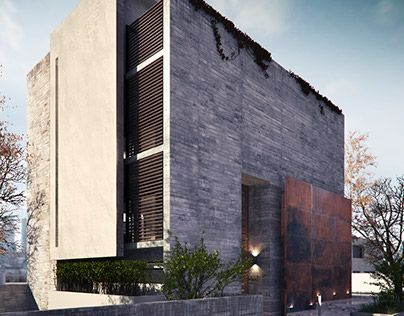 "Check out new work on my @Behance portfolio: ""Casa Concreto"" http://be.net/gallery/33245541/Casa-Concreto"
