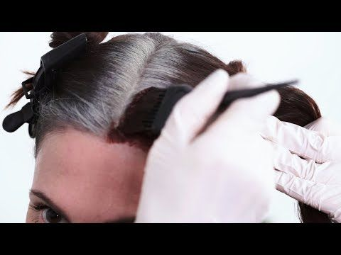 Have stubborn gray hair? Watch step-by-step pro color hacks for ...