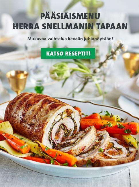 Kreikkalaiset lihapullat on maustettu mintulla. Mehevyyttä tuo herkullinen fetajuusto. Jos haluat lihapulliisi vaihtelua, kokeile tätä reseptiä.