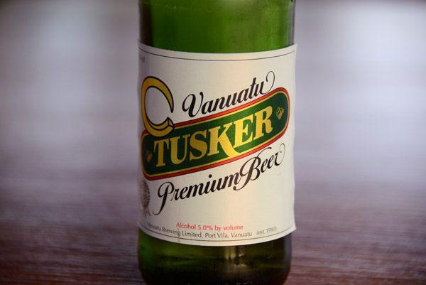 Vanuatu beer Tusker