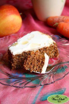 Zdrowe ciasto marchewkowe bez cukru - Wino i oliwki