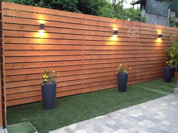 Fotograf a de deck verticales para muro por roberto moreno - Como decorar un patio ...