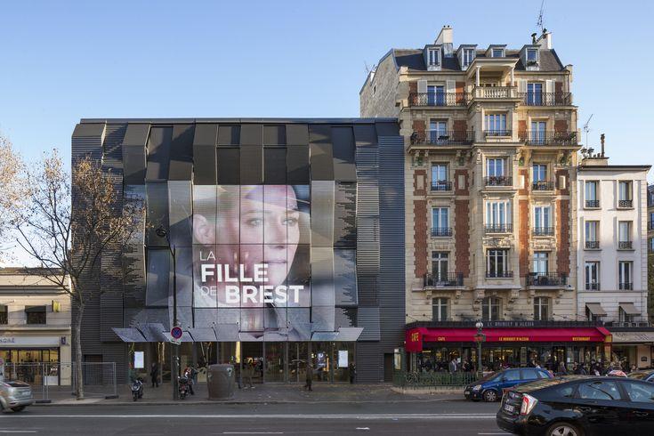 Gaumont-Pathé Alésia Cinemas / Manuelle Gautrand Architecture