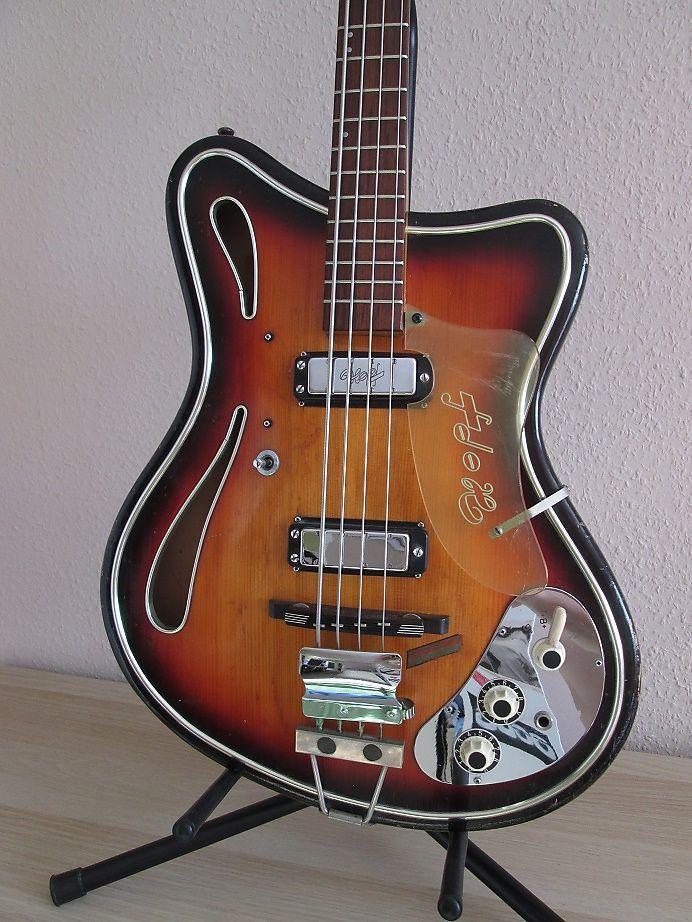 Hopf Saturn 67 Bass 1967 Sunburst Very Rare Reverb Bass Guitar Bass Guitar Tabs Guitar