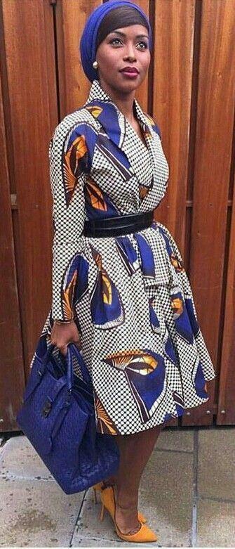 cool ~DKK ~African fashion, Ankara, kitenge, African women dresses, African prints, A...
