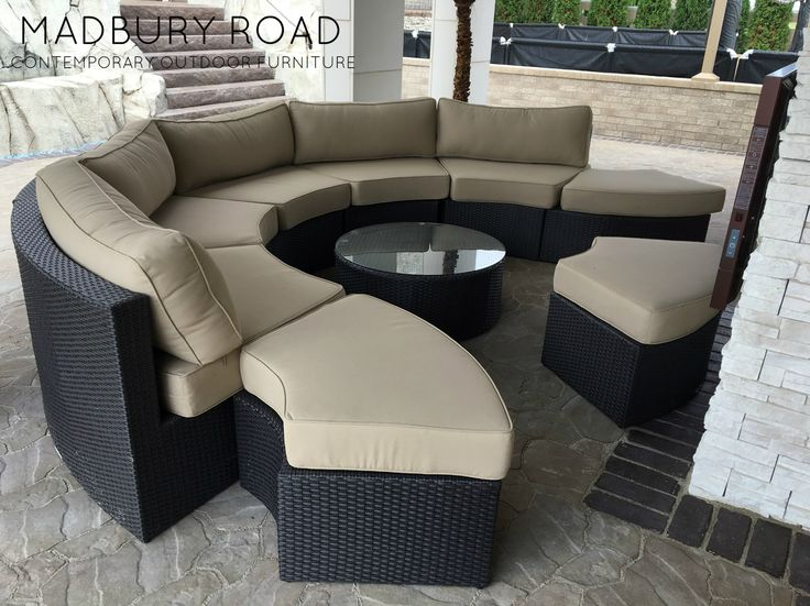 The Santorini Is Made Of Our Signature All Weather Wicker. It Meshes The  Style. Outdoor Wicker FurnitureOutdoor ...