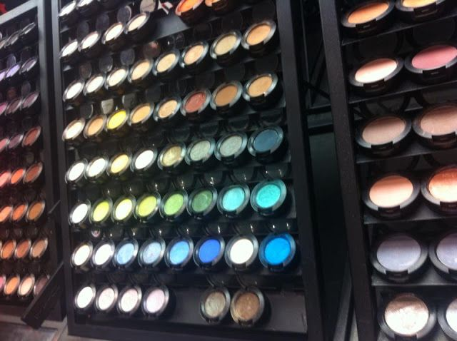 MAC makeup counter