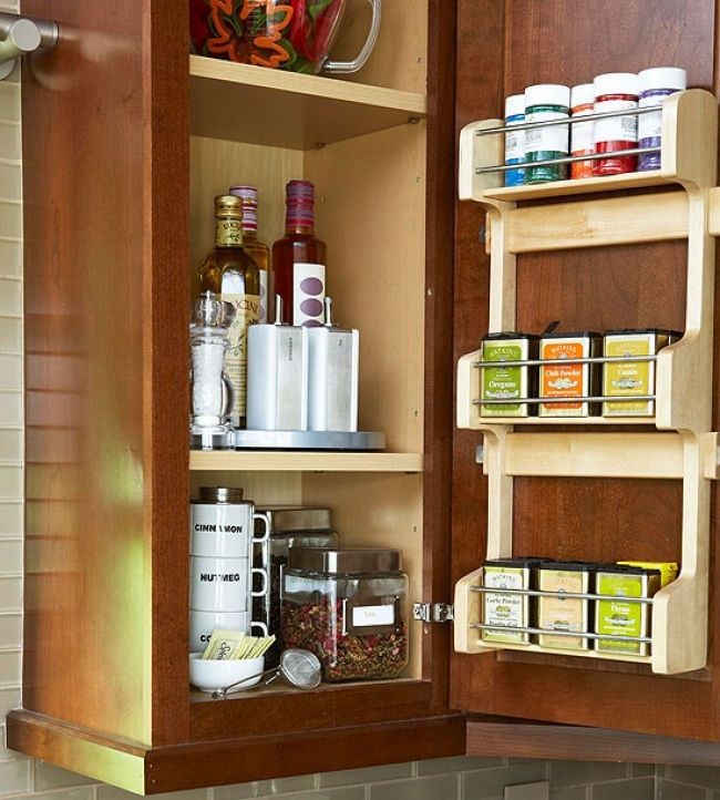 21 ideas for small kitchens.organiEd!  .  Small doesn't need to mean cramped!