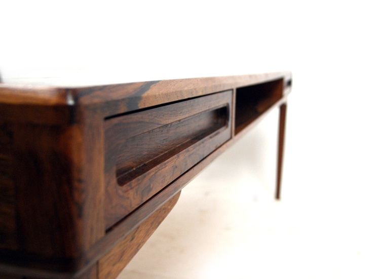 Coffee table, rosewood