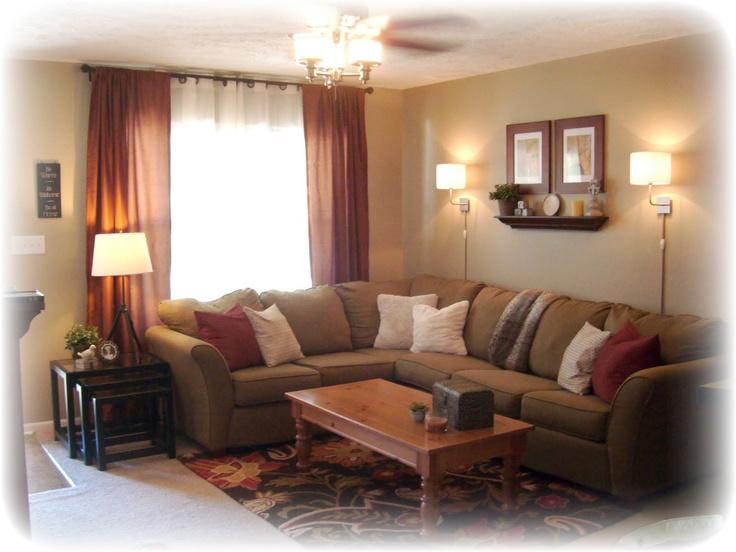 shelf behind couch decorating ideas pinterest. Black Bedroom Furniture Sets. Home Design Ideas