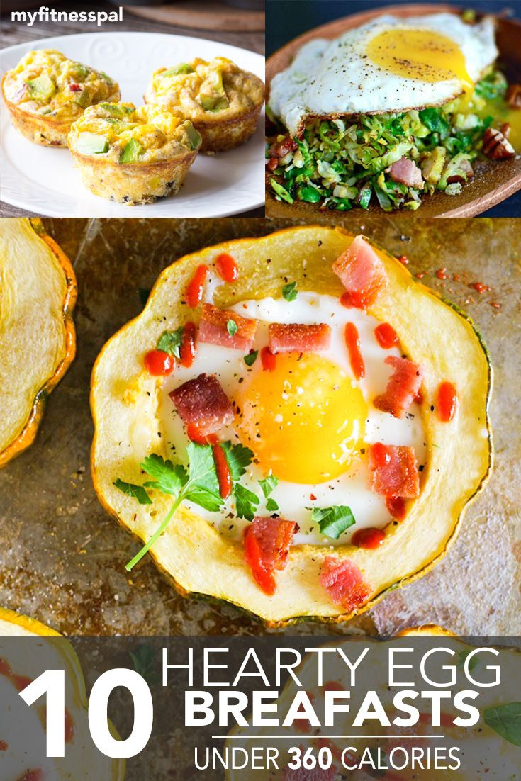10 Hearty Egg Breakfasts Under 360 Calories